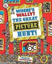 Where's Wally Book: Book 6: WHERE'S WALLY? THE GREAT PICTURE HUNT - Large - NEW