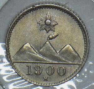 Guatemala 1900 1/4 Real 190756 combine shipping