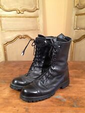 Vietnam Military Paratrooper Tanker Boots 1969 Johnny Depp In Size 9 R