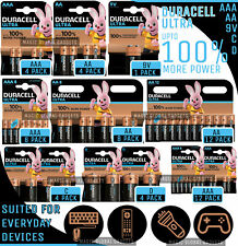 DURACELL ULTRA POWER AA & AAA ALKALINE BATTERIES  LR03, LR6 LONG EXPIRY 2029