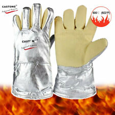 500 Degree High Temperature Resistant Gloves Aramid Anti Scald Safety Gloves