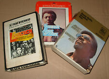 Lot of 3 Soul 8-track Cartridges 1970s - Joe Simon Jimmy Ruffin Black Explosion