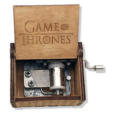 New Game of Thrones Wooden Music Box Custom Gift for Boyfriend Gift For Brother