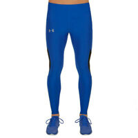 Under Armour Mens Coolswitch Run V2 Running Tight Blue Sports Breathable