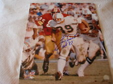 Larry Csonka Autograph / Signed 16 x 20 photo Miami Dolphins HOF 87
