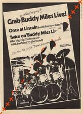 Buddy Miles LP advert Time Out clipping 1971/2
