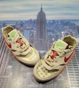 Nike x Clot Air Max 1 Kiss Of Death Net/Red TD Toddler Size 10c DH2492 100 New