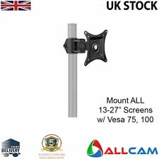 "Ø 35mm Pole mount bracket for all 13""-27"" Monitors with VESA75 and VESA100"