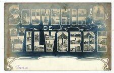 CPA PK AK SOUVENIR DE VILVORDE 1905