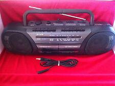 AIWA CS-W525EZ radio cassette recorder boombox ghettoblaster, working