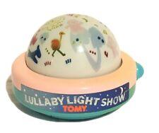 TOMY First Fun Lullaby Light Show Windup Musical Night Light Projector 1987