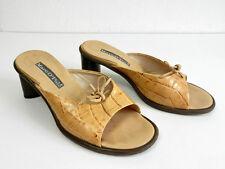 MARC O POLO Pantolette Damen Gr. 36.5 (3.5)  Sandale Schuhe Damen Leder Shoes
