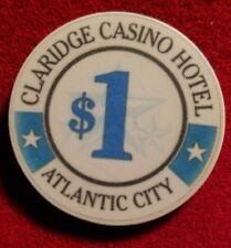 Details about  /Claridge Casino Hotel $1.00 chip ~ Atlantic City