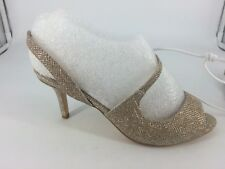 F&F Sensitive Sole High Heel SS Wedding Shoe Gold Size UK 5 EU 38 - BS086 BB 07