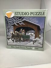 Studio Puzzle 500 pieces John Sloane On The Way Jigsaw Bits And Pieces Brand New