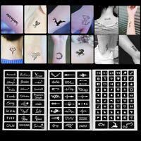 henna - kit tattoo - schablonen vorübergehende abziehbild body - art - vorlage