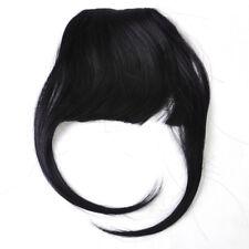 Adorable Women Girls Clip In Neat Hair Bang Straight Fake Fringe Hair Extension