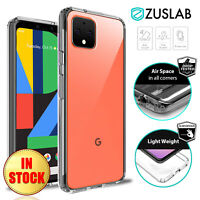 For Google Pixel 4 XL 4XL Case ZUSLAB Clear Heavy Duty Shockproof Slim Cover