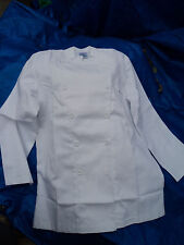 More details for chefs jacket white size 34 asda collegues on inside label with free neckerchief