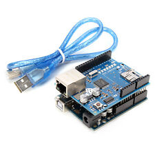 "Geekcreitâ""¢ ATmega328 UNO R3 + Ethernet Shield W5100 Kit For Arduino"