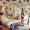 5pcs 36 Inch Wedding Giant Clear Balloons with Confetti Premium  Latex Balloon