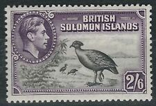 Mint Hinged Birds Colony British Postages Stamps
