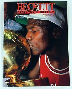 Beckett Basketball Magazine Michael Jordan September 1991 Issue 14 Larry Johnson