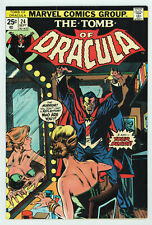TOMB OF DRACULA #24 7.0 BLADE APPEARANCE OW/W PGS 1974
