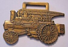The Russell & Company Engine Tractor Farm Pocket Watch Fob Massillon Boss Bull