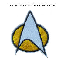 Star Trek Fleet Crew Iron On Patch Insignia Movie Film Cosplay Logo Costume Kirk