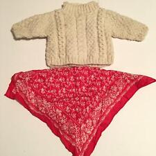 American Girl Doll  Girl of Today Sweater and Red Bandana  (A32-07)