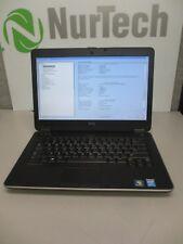 "Dell Latitude E6440 14.1"" Laptop i7-4600M 2.90GHz 8GB/320GB Webcam Linux + AC"