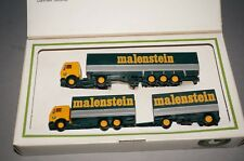 RF1 Herpa Lim. Collection Toys Malenstein Bubbles Flatbed Roadtrain in Set 1/87