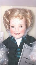 "Danbury Mint Shirley Temple ""The Littlest Rebel"" 10"" Nrfb"