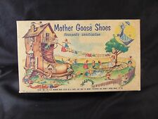 """Baby shoes Mother Goose brown leather flexopedic above ankel style length 5 1/2"""""""
