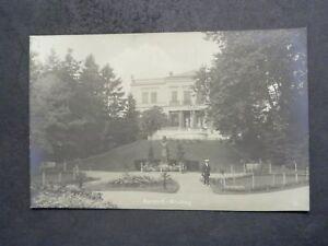 MISDROY Miedzyzdroje Pommern - Foto-AK - Kurhaus Kurpark Mann Denkmal