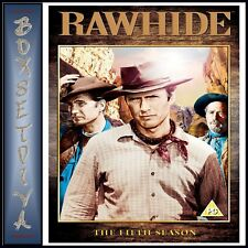 RAWHIDE COMPLETE SERIES 5 - THE FIFTH SEASON  BRAND NEW DVD