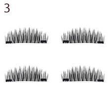 Skonhed&#174 4 Pcs Lashes/set Double Magnet False Eyelashes No Glue Lashes Style 2