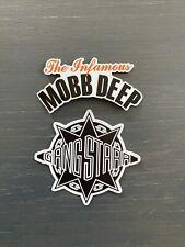 90s Rap Mobb Deep & Gangstar Vinyl Sticker's (2)
