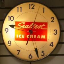 Sealtest ice cream bubble clock Lot 121
