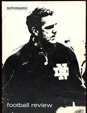 December 10 1971 NCAA Football Notre Dame Scholastic Review Magazine EX