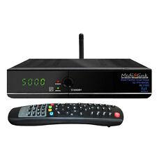 Russische TV Sat-Receiver Medialink ML1100S WLAN Astra +Hotbird +Astra 4A +Amos