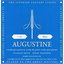 AUGUSTINE Classical guitar string blue set NEW from Japan