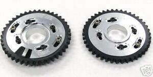 OBX Silver IN & EX Cam Gear Sprocket for 96-04 Ford Mustang 4.6L V8 2 PCS