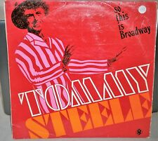 TOMMY STEELE SO THIS IS BROADWAY TP610 WORLD RECORD CLUB VINYL LP ALBUM RECORD
