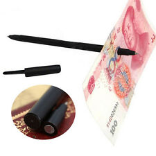 New Close Up Magic Pen Penetration Through Paper Dollar Bill Money Trick Tool