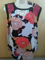 Bnwt Next Womens  Chiffon sleeveless Summer Casual Blouse Top size 6.RRP£24