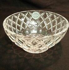 "Lenox Full Lead Crystal Star Diamond 5"" Glass Bowl Candy Nut Dish"