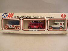 LLEDO  XIII Commonwealth Games Scotland 1986 - 3 piece set  NIB (10)