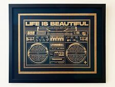2019 Life is Beautiful festival Poster